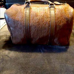 Christian Dior Boston Trotter Bag